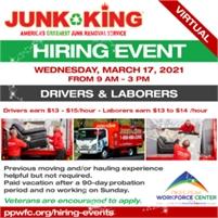 Junk King Virtual Hiring Event