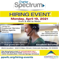 Charter Spectrum Hiring Event - By appointment only!
