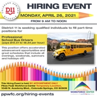 D11 Hiring Event - By Appointment Only