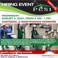 PCSI Virtual Hiring Event