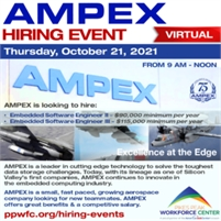 AMPEX Data Systems Corporation Virtual Hiring Event